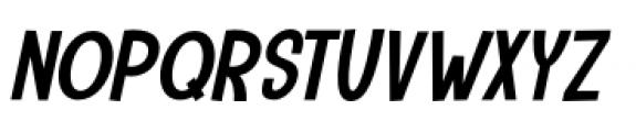 Camping Holiday Italic Font UPPERCASE