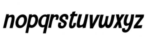 Camping Holiday Italic Font LOWERCASE