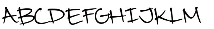 Camy Black Medium Font UPPERCASE