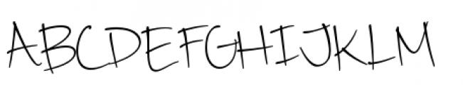 Camy Light Narrow Font UPPERCASE
