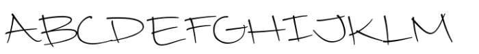 Camy Light Wide Font UPPERCASE