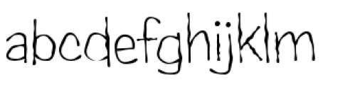 Candy Buzz BTN Light Font LOWERCASE