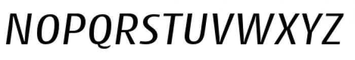 Cantiga Normal Italic Font UPPERCASE