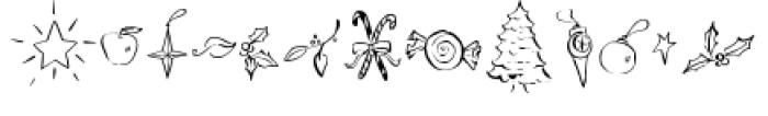 Carrotflower Christmas Font UPPERCASE