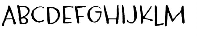 Carrotflower Font UPPERCASE