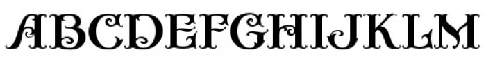Casino Fancy Font LOWERCASE