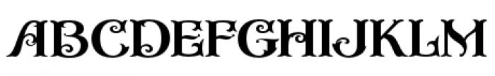 Casino Font LOWERCASE