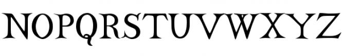 Castine Regular Font UPPERCASE