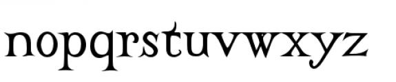 Castine Regular Font LOWERCASE