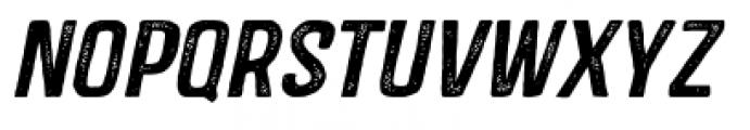 Castor One Oblique Font LOWERCASE