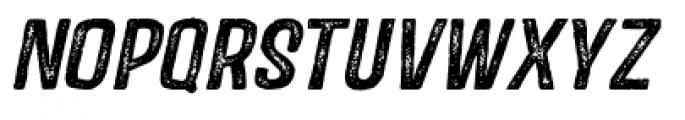 Castor Two Oblique Font UPPERCASE