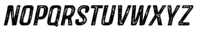Castor Two Oblique Font LOWERCASE