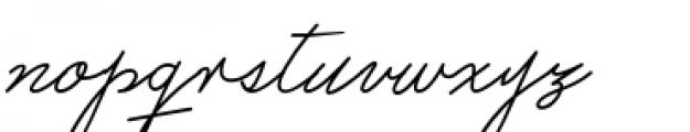 Castro Script Font LOWERCASE