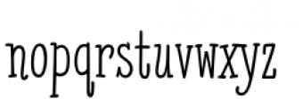 Cattleprod PB Regular Font LOWERCASE