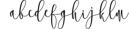 Calligraphy Font Bundles 12 Font LOWERCASE