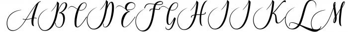 Calligraphy Font Bundles 13 Font UPPERCASE