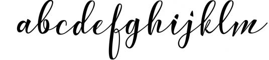 Calligraphy Font Bundles 13 Font LOWERCASE
