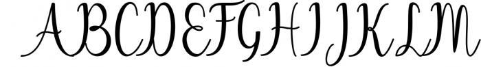 Calligraphy Font Bundles 1 Font UPPERCASE