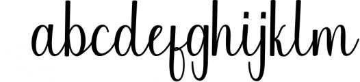 Calligraphy Font Bundles 1 Font LOWERCASE