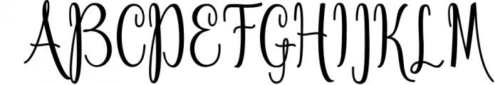 Calligraphy Font Bundles 2 Font UPPERCASE