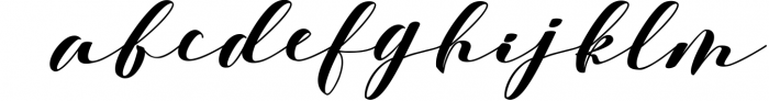 Calligraphy Font Bundles 3 Font LOWERCASE
