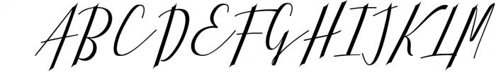 Calligraphy Font Bundles 6 Font UPPERCASE