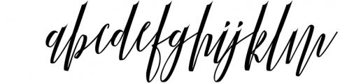 Calligraphy Font Bundles 6 Font LOWERCASE