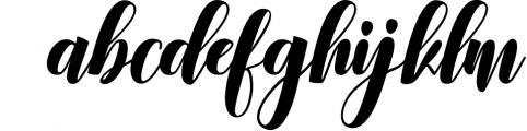 Calligraphy Font Bundles 9 Font LOWERCASE