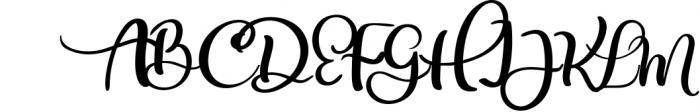 Calligraphy Wedding Decor Font Delight Font UPPERCASE
