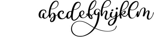 Calligraphy Wedding Decor Font Delight Font LOWERCASE