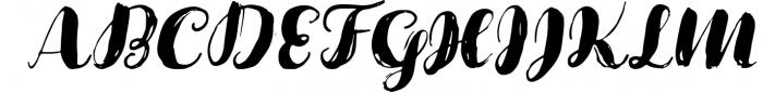 Cartina 8 in 1 script 1 Font UPPERCASE
