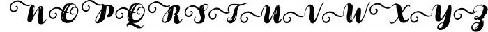 Cartina 8 in 1 script 3 Font UPPERCASE