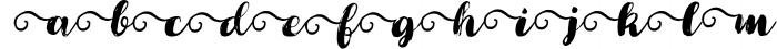 Cartina 8 in 1 script 3 Font LOWERCASE