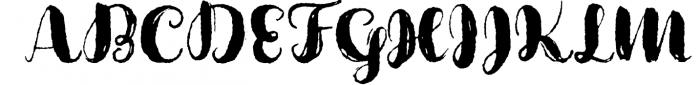 Cartina 8 in 1 script 4 Font UPPERCASE
