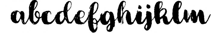 Cartina 8 in 1 script 4 Font LOWERCASE