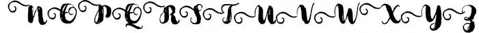 Cartina 8 in 1 script 6 Font UPPERCASE