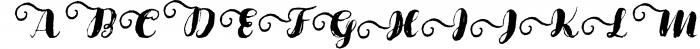 Cartina 8 in 1 script 7 Font UPPERCASE