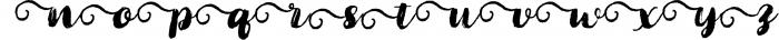 Cartina 8 in 1 script 7 Font LOWERCASE