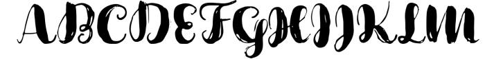 Cartina 8 in 1 script Font UPPERCASE