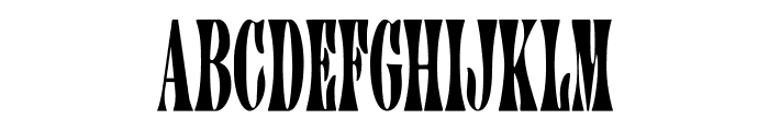 CA AfterMidnightSale Font UPPERCASE