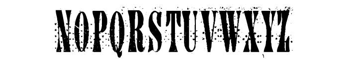 CA AfterMidnightSalePreshrunk Font UPPERCASE