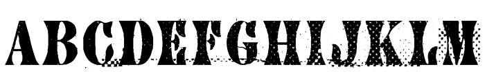 CA AfterMidnightSalePreshrunk Font LOWERCASE