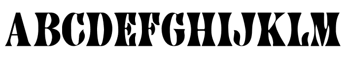 CA AfterMidnightSale Font LOWERCASE