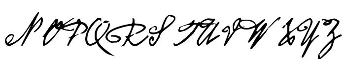 CA Koenigsbrueck Font UPPERCASE