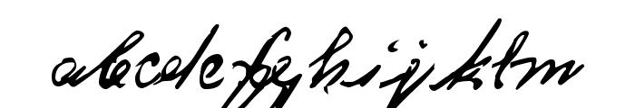 CA Koenigsbrueck Font LOWERCASE
