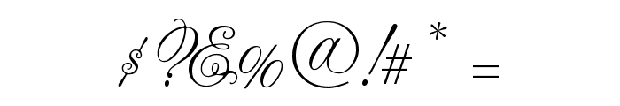 CAC Lasko Condensed Font OTHER CHARS
