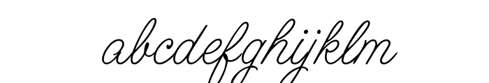 CAC Lasko Even Weight Font LOWERCASE