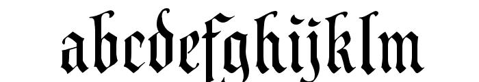 CAC Valiant Font LOWERCASE