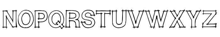 CAITLYN Font UPPERCASE