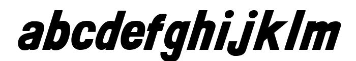 CAKissKissBangBang Font LOWERCASE